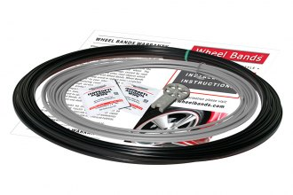 RimPro-Tec® WBRBSL - Silver Insert and Black Track Wheel Bands™