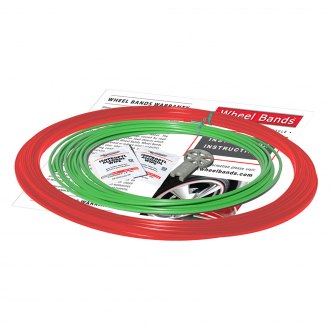 RimPro-Tec® - Green Insert and Red Track Wheel Bands™