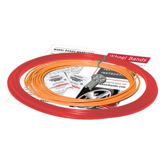 RimPro-Tec® - Orange Insert and Red Track Wheel Bands™