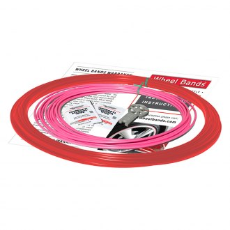 RimPro-Tec® - Pink Insert and Red Track Wheel Bands™