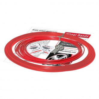 RimPro-Tec® - Red Insert and Red Track Wheel Bands™