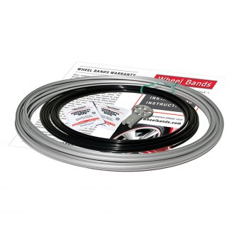 RimPro-Tec® - Black Insert and Silver Track Wheel Bands™