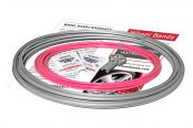 RimPro-Tec® - Pink Insert and Silver Track Wheel Bands™