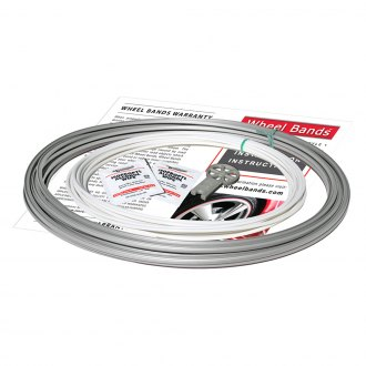 RimPro-Tec® - White Insert and Silver Track Wheel Bands
