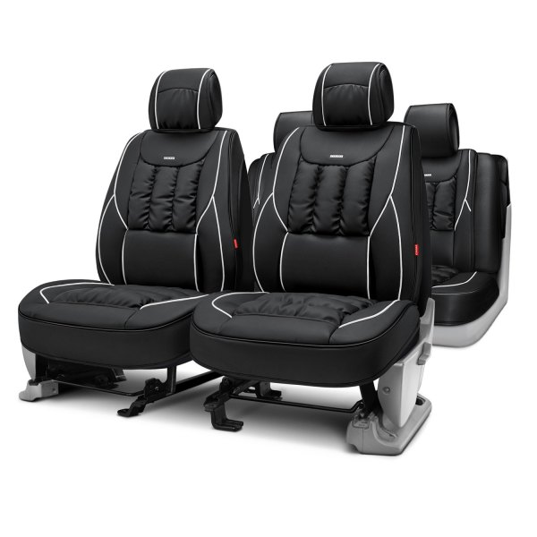 Rixxu™ - Primo Series Black Seat Covers