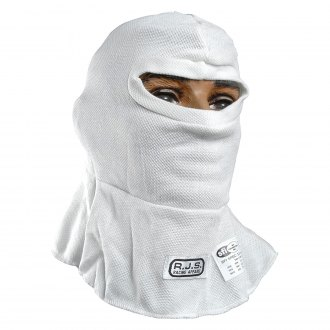 RJS® - Nomex Single Eyeport Racing Hood, White
