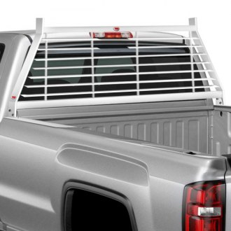 RKI® - WG Series Steel Louvered Window Grille Cab Rack
