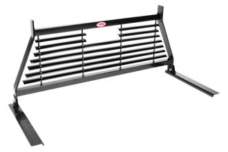 RKI® - WG Series Louvered Steel Louvered Window Grille Cab Rack