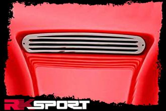 RKSport® - Polished Stainless Steel Hood Vent Grille