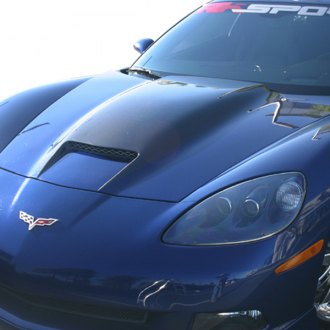 RKSport® - Ram Air Hood with Carbon Fiber Blister