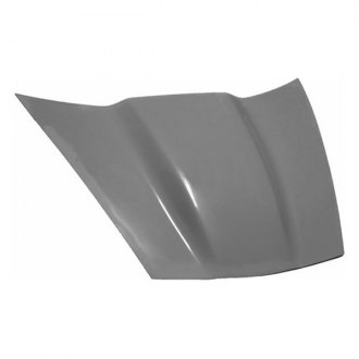 RKSport® - Fiberglass Supercharger Hood without Heat Extractor Vents (Unpainted)