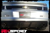 RKSport® - Rear Dual Exhaust Diffuser with Carbon Fiber Splitter