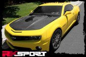 RKSport® - Fiberglass Hood with Clear Center
