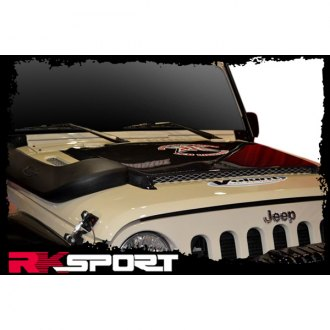 Image may not reflect your exact vehicle! RKSport® - Ram Air / Extractor Hood