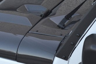 RKSport® - Carbon Fiber Windshield Cowl Dress Kit