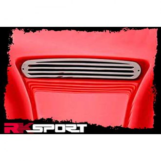 RKSport® - Stainless Steel Polished Hood Vent Grille