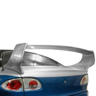RKSport® - Fiberglass Adjustable Touring Rear Wing Spoiler (Unpainted)