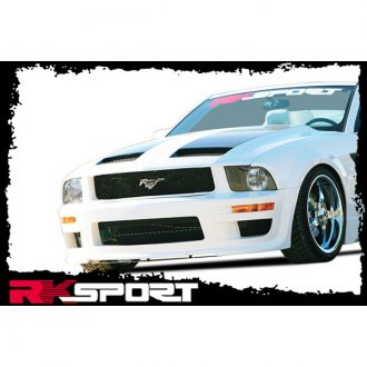 RKSport® - California Dream Ram-Air Fiberglass Hood (Unpainted)