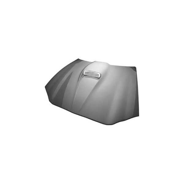 RKSport® - RK Competition Ram Air Fiberglass Hood with Carbon Fiber Blister (Unpainted)
