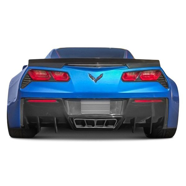 Image may not reflect your exact vehicle! RKSport® - Fiberglass Rear Diffuser