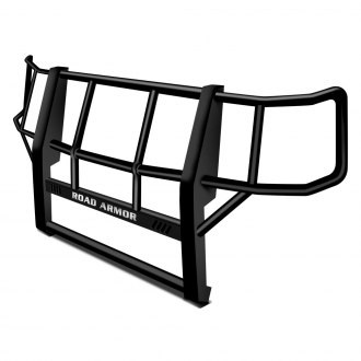 Road Armor® - Fleet Series Black Powdercoated Brush Guard
