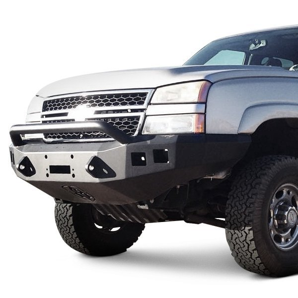 Off Road Bumper Plans >> Road Armor® - Chevy Silverado Classic Body Style 2500 HD 2007 Stealth Series Full Width Front ...