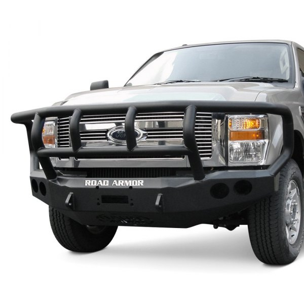 Road Armor® - Stealth Series Full Width Front HD Raw Bumper