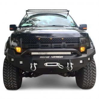 Road Armor® - Stealth Series Full Width Front Winch HD Bumper with Pre-Runner Guard