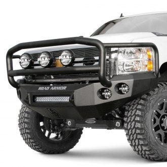 Road Armor® - Stealth Series Full Width Front HD Bumper with Lonestar Guard
