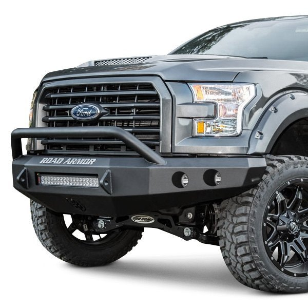 Road Armor Stealth Series Full Width Front Hd Bumper With Pre Runner Guard