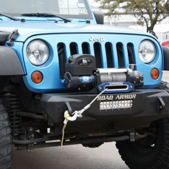 Road Armor® - Stealth Series Stubby Front HD Winch Bumper