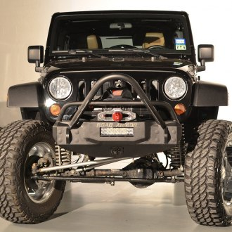 Road Armor® - Stealth Series Stubby Front HD Winch Bumper with Stinger