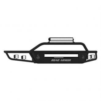 Road Armor® - Stealth Series Full Width Front HD Bumper with Sahara Guard