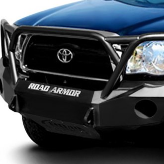Road Armor® - Stealth Series Full Width Front HD Bumper with Aggro Guard