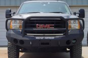 Road Armor® - Stealth Series Full Width Front HD Black Powder Coat Bumper