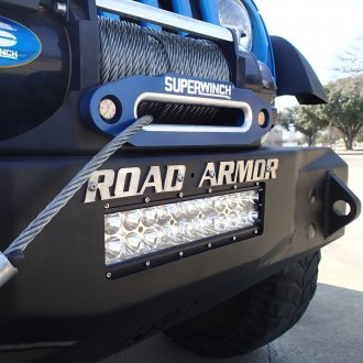 Road Armor® - Stealth Series Full Width Front HD Bumper with Light Bar Mount