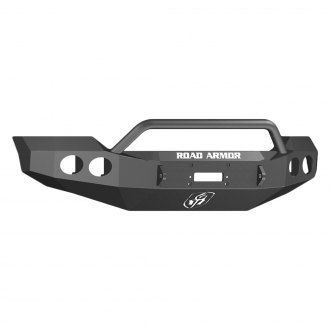 Road Armor® - Stealth Series Full Width Front HD Winch Bumper with Pre-Runner Guard