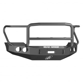 Road Armor® - Stealth Series Full Width Front HD Winch Bumper with Lonestar Guard
