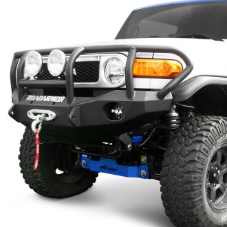 Road Armor® - Stealth Series Full Width Front Winch HD Bumper with Titan II Guard
