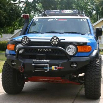 Road Armor® - Stealth Series Full Width Front HD Winch Bumper with Titan II Guard