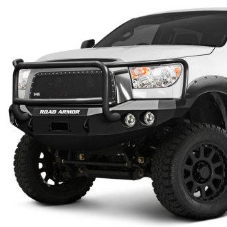 Road Armor® - Stealth Series Full Width Front Winch HD Bumper with Aggro Guard