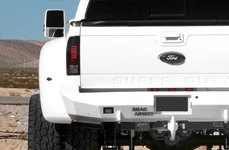 ROAD ARMOR® - Front Winch Bumper with Round Light Mounts