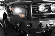 ROAD ARMOR® - Front Winch Bumper with Titan II Guard and Square Light Mounts