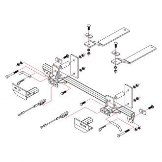 2005 subaru wrx tow bars mounts base plates tow lights brakes 05 STI Rear roadmaster xl baseplate bracket