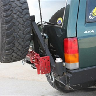 Rock Hard 4x4® - Patriot Series Full Width Rear HD Bumper for Bushwacker Flares