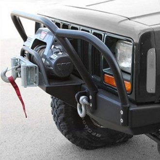 Rock Hard 4x4® - Bolt On Winch Plate with Fairlead Mount