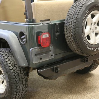 Rock Hard 4x4® - Patriot Series Full Width Rear HD Bumper without Tire Carrier
