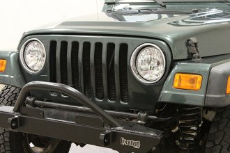 Rock Hard 4x4® - Narrow Width Legendary Front Bumper with Angled Forward Hoop
