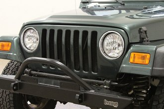 Rock Hard 4x4® - Mid Width Legendary Front Bumper with Angled Forward Hoop