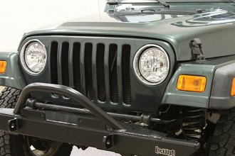 Rock Hard 4x4® - Full Width Legendary Front Bumper with Angled Forward Hoop